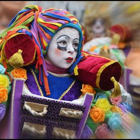 Carnaval 2015 by Etienne Chalmet - City,  Street & Park  Street Scenes ( carnaval, street, children, people, portrait )