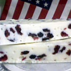 Fourth of July Red White and Blue Fudge!!!