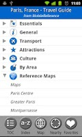 Screenshot of Paris, France - Travel Guide