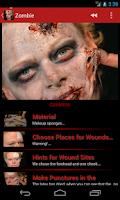 Screenshot of Horror Makeup FREE