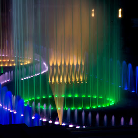 Musical fountain by Marius Peptan - City,  Street & Park  Fountains