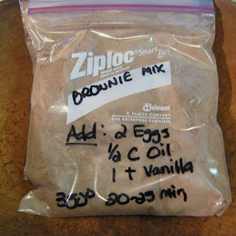 Make Your Own Betty Crocker Brownie Mix
