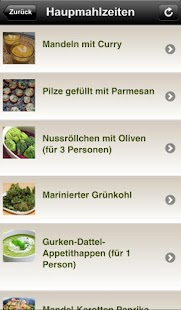 greenfoody - Vegan & Rohkost - screenshot