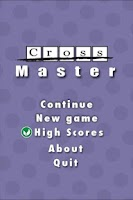 Screenshot of CrossMaster FREE