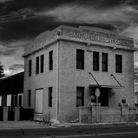 Santa Fe Freight Depot 2322 by Jim Suter - Buildings & Architecture Public & Historical