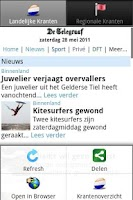 Screenshot of Kranten NL PRO (Nederlandse)