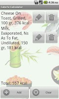 Screenshot of Calorie Calculator Pro