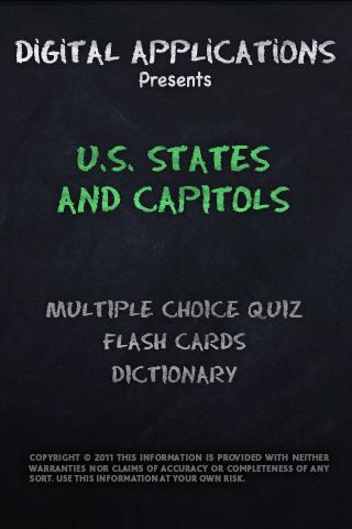 U.S. STATES and CAPITOLS Quiz