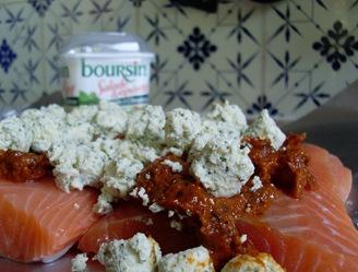saumon tomate cru