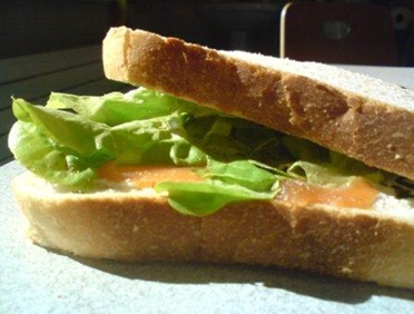 sandwich saumon