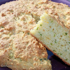 Australian Cheese, Garlic and Chive Damper