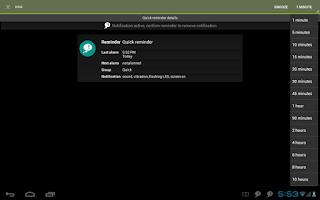 Screenshot of n'4get Reminder Pro