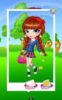 Screenshot of Dress Up! School Girls
