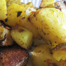 Roasted Idaho and Sweet Potatoes