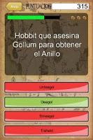 Screenshot of El señor de los Anillos Trivia