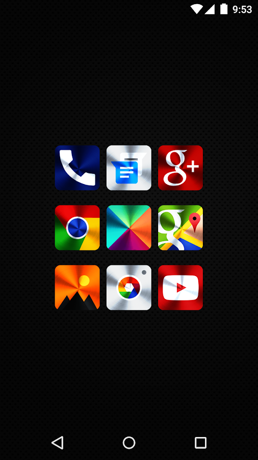 Vivid Icon Pack Screenshot 1