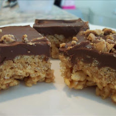 Chocolate, Butterscotch, Pb Rice Krispies Treats