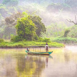 Situgunung Lake by Agustian Harun - Babies & Children Children Candids