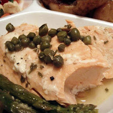 Pan-Poached Salmon Piccata