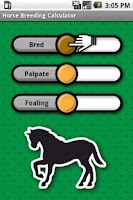 Screenshot of Horse Breeding Calculator