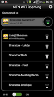 Screenshot of MTN WiFi Roaming
