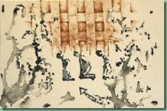 CULTURA/EXPOSICION XXIII PALMARES DIPLOMAT Segundo lugar XXIII Palmares Diplomat obra Perdon y Pecado de Marvin Anibal Leiva, que se exibe en Maria Escalon Nunez, 16102008, Foto LPG Javier Aparicio  ------  4 col, full