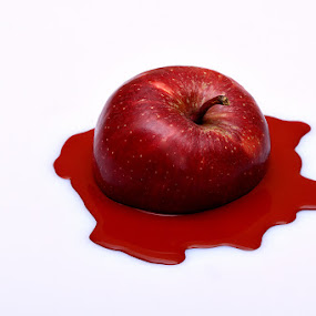 by Ramakant Sharda - Artistic Objects Still Life ( red, apple, still life,  )