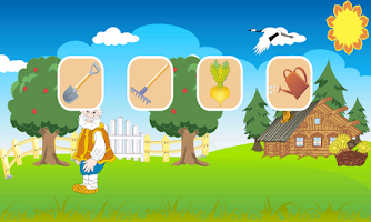 Screenshot of Turnip. Russian folk tale.