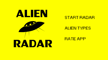 Screenshot of Alien Radar - free