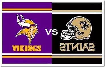 Watch Minnesota Vikings vs New Orleans Saint Live!