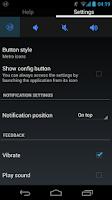 Screenshot of TrayVolume volume notification