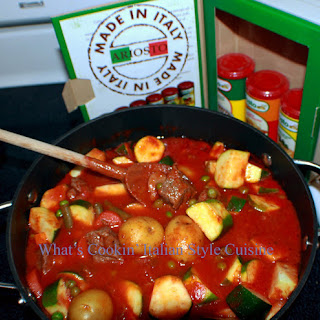 One Pan Easy Beef Stew with White Wine