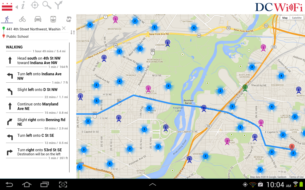 Dc Wifi Hotspot Finder Android Apps On Google Play
