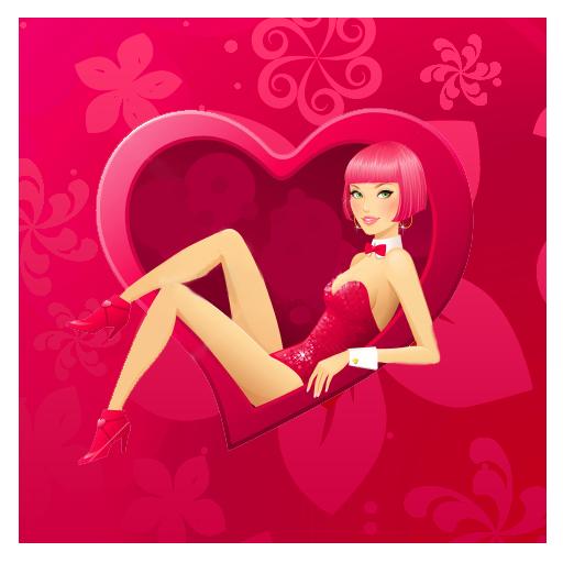 사랑의 하트가 벽 라이브 個人化 App LOGO-硬是要APP