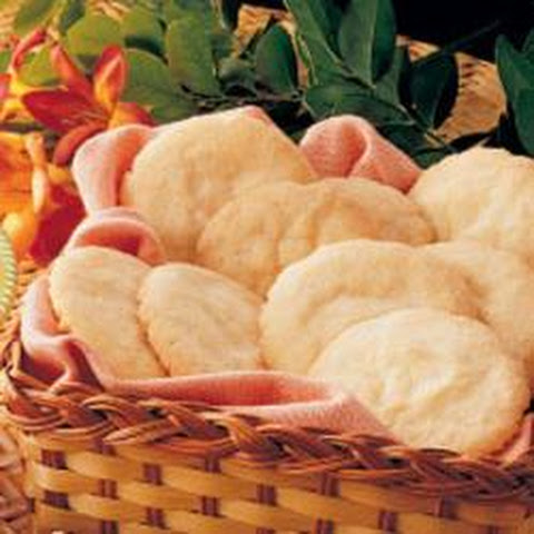 Crisp Lemon Sugar Cookies