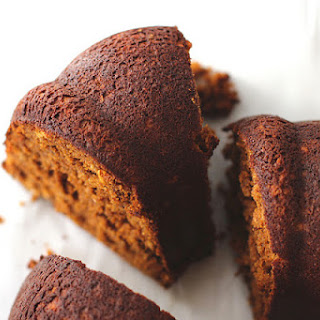 Butterscotch Pumpkin Gingerbread Bundt Cake with Cinnamon-Spiced Icing and Pecans