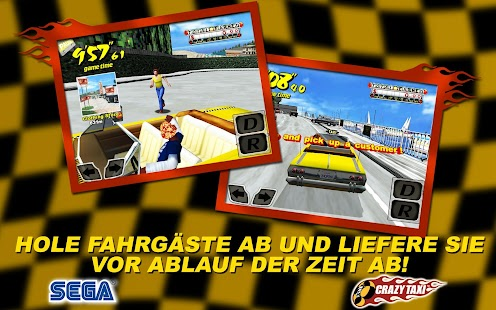 Crazy Taxi Screenshot