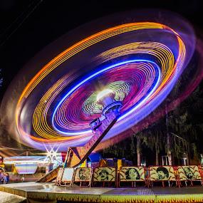 UFO by Vedran Bozicevic - City,  Street & Park  Amusement Parks (  )