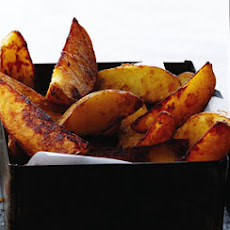 Balsamic Roasted Potato Wedges