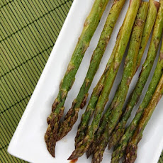 Balsamic- Roasted Asparagus