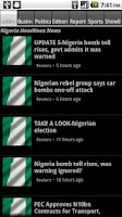 Screenshot of Nigerian News For Android