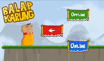 Screenshot of Balap Karung