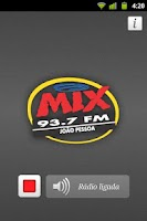 Screenshot of Rádio MIX FM