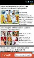 Screenshot of Cruzeiro app não oficial