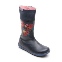 Agatha Ruiz de la Prada Long Flower Boot BOOTS