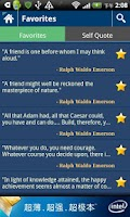 Screenshot of iQuotes - Inspiring Quotes