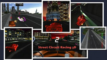 Screenshot of Street Circuit City Speed Race