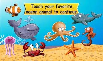 Screenshot of Ocean Animal Genius Test