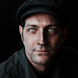 Peter by Glynn Lavender - People Portraits of Men ( portraiture, face, portraits, people, portrait )