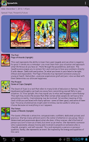 Screenshot of Tarot of Trees